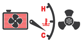 AC and Heating Icon
